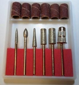 Набор фрез с алмазным напылением (6 шт)