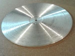 Планшайба алюминиевая коническая  260мм