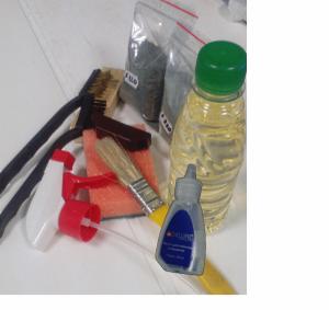 Набор для заточки ножей машинок
