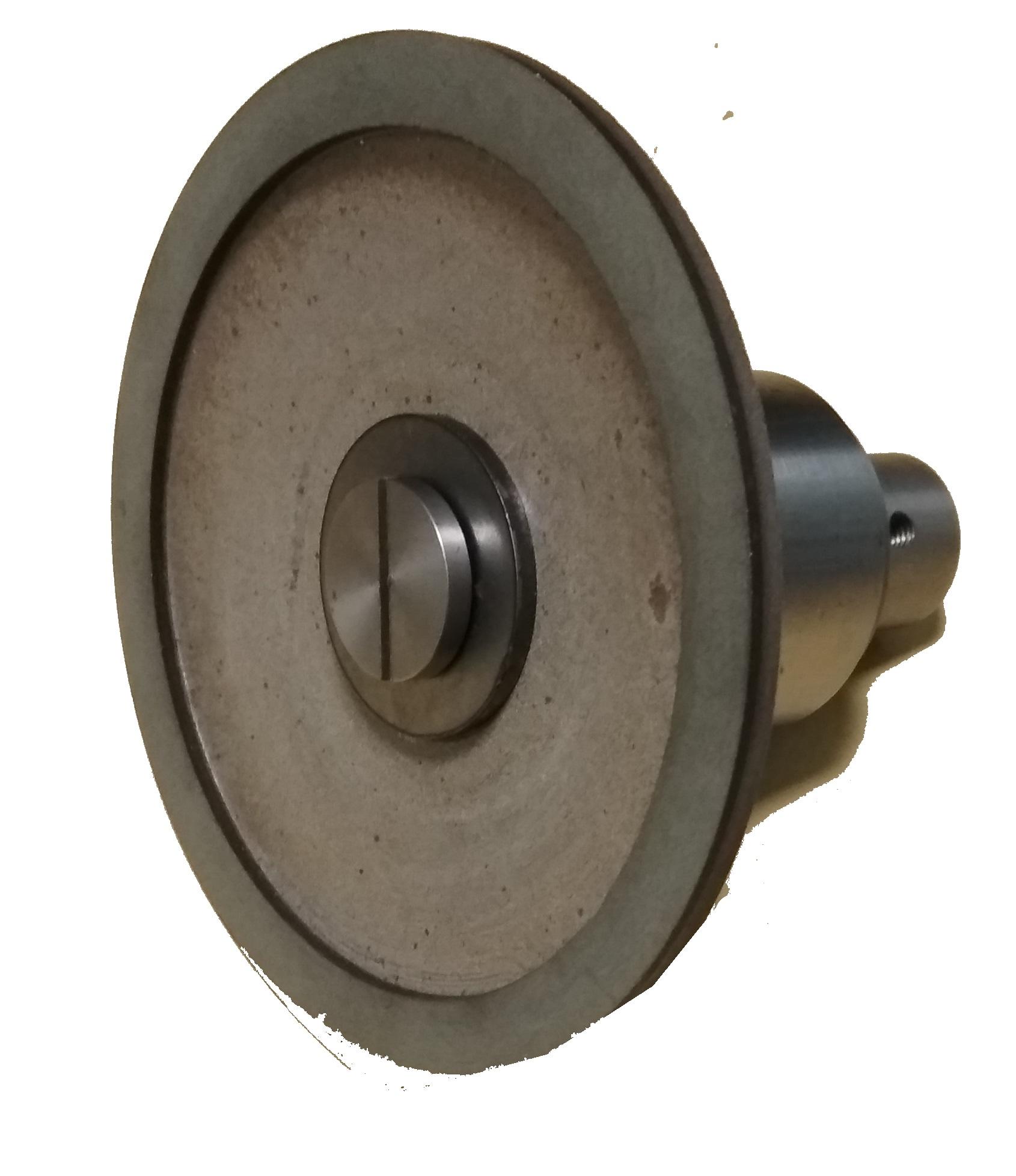 Алмазная чашка с посадочной втулкой для заточки маникюрных кусачек и других инструментов