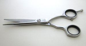 Ножницы парикмахерские прямые.