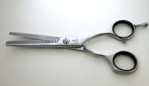 Ножницы парикмахерские филировочные.
