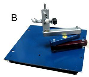 Манипулятор трехколенный для заточки ножей, ножниц